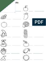 German fruit sheet