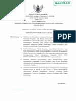 Peraturan KPU Nomor 17 Tahun 2014