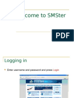 SMSter Manual