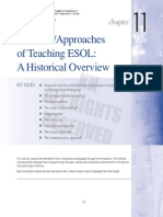 Methods/Approaches  of Teaching ESOL