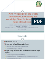 VFI and Rights-LINK Lao Presentation