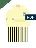 Bee Envelope