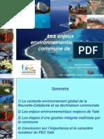 17/08/2009 - Présentation des enjeux environnementaux sur la commune de Yaté par Michel Allenbach