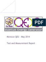 QEG - Test and Measurement Report