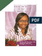 Louisa Funeral Program 09052014