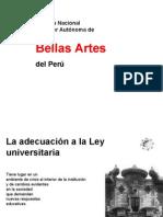 Escuela Nacional Superior de Autónoma de  Bellas Artes Perú