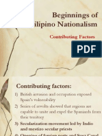 Beginnings of Filipino Nationalism
