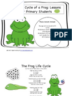 Lifecycle of a Frog for Primary Students