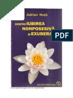 Adrian Nuta Despre Iubirea Nonposesiva Si Exuberanta