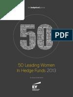 Hfj 50 Women in Hf 2013