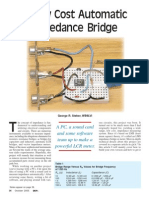 A Low Cost Automastic Impedance Bridge