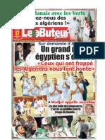 LE BUTEUR PDF du 17/11/2009