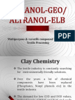 Altranol GEO.Clay based textile Pretreatment specialities.