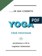 Yoga fără profesor