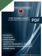 The PUMBA Gazette (July Edition)