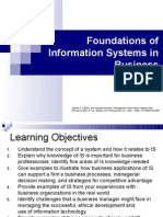 Foundations of Information Systems in Business 1