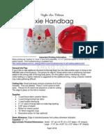 Keyka Lou Patterns-Pixie Handbag