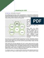 Advanced Energy Modeling for LEED