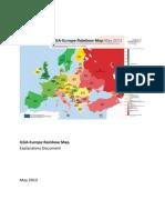 ILGA-Europe Rainbow Map 2013 Explanatory Document