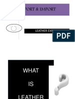 Export & Import Ppt
