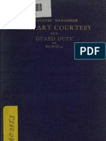 (1898) Private's Handbook of Military Courtesy