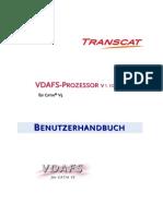 Vda Transcat Manual