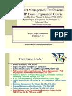 Ahmed El Antary - PMP Part 5 - Scope 4th Ed - General