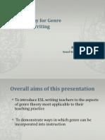 Genre in ESL Writing