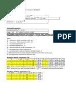 Compressor Power Estimation Calcs