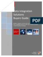 2014 Solutions Review Data Integration Buyers Guide MK63