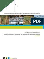 Australia NGER Measurement Technical Guidelines 2009