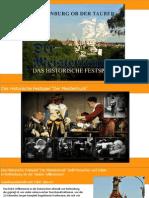 Präsentation des Historischen Festspiels - Der Meistertrunk 2014