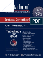 MR GMAT Sentence Correction Guide