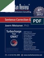 MR GMAT Sentence Correction Guide