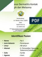 presentation DKA+melasma