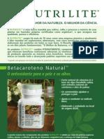 Betacaroteno - NUTRILITE