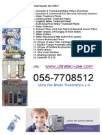 Ultra Tec Water Purifiers sale & Service