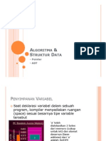 [Algoritma & Struktur Data] Materi Pointer