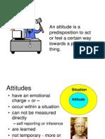 Presentation on Attitudes