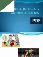 Desarrollo Integral y Autorrealización