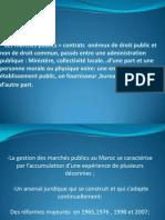 Gestion Des Marchésv Publics