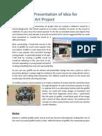 Alternative Presentation of Idea for Community Art Project