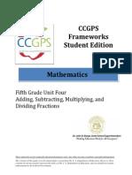 ccgps math 5 unit4frameworkse