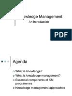 Presentation on Knowledge Management