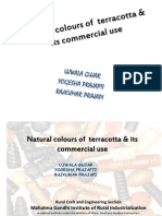 Natural Colours of Terracotta & Its Commercial Use