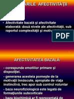 TULBURARILE AFECTIVITATII