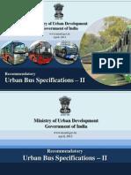 Urban Bus Specifications II 2
