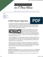 GURPS Tékumel_ Magic Items