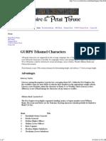 GURPS Tékumel Characters