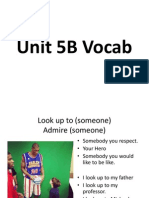 unit 5b vocab